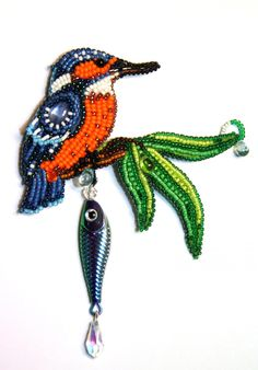 VK is the largest European social network with more than 100 million active users. Beaded Brooch, Brooch Pin, Beaded Jewelry, Beaded Bead, Beaded Animals, Mosaic Patterns, Bead Crafts, Beaded Embroidery, Pet Birds