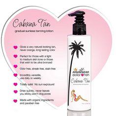 Million Dollar Tan - Cabana Tan Extreme - Dark Sunless Tanning Lotion Million Dollar Tan, Tanning Pills, Lotion, Tanning Solution, Layers Of The Epidermis, Natural Moisturizer, Perfume Bottles, Cabana, Ebay