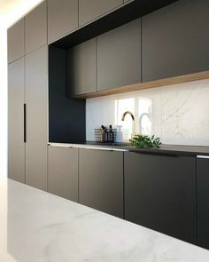 60 gorgeous black kitchen ideas for every decorating style 39 Black Kitchen Decor, Kitchen Room Design, Luxury Kitchen Design, Kitchen Cabinet Design, Home Decor Kitchen, Kitchen Layout, Interior Design Kitchen, New Kitchen, Kitchen Ideas