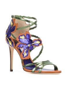 Jimmy Choo Lolita floral sandals