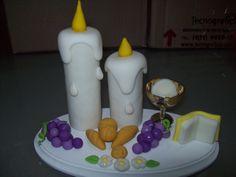 adorno torta comunion
