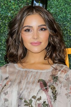 "breathtakingwomen: ""Olivia Culpo at the Veuve Clicquot Polo Classic, Los Angeles October, "" Queen Makeup, Beauty Makeup, Hair Makeup, Hair Beauty, Makeup Eyes, Bridal Makeup, Wedding Makeup, Hair Inspo, Hair Inspiration"
