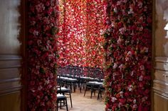 Christian Dior Couture AW 2012  5 rooms, 1 million flowers..