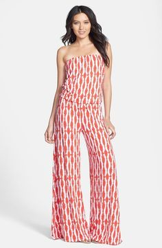 a15ff1ead87c Tart  Valerie  Print Strapless Knit Jumpsuit available at