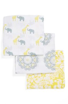 So cute Swaddle Designs 'Swaddle Lite - Lush' Marquisette Blanket (Set of 3) available at #Nordstrom