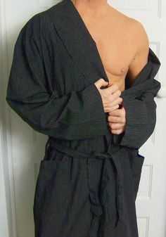 mens - POLO RALPH LAUREN robe - L   XL - SLEEPWEAR - CHECK - Black 7750eccb6