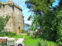 Stay in a private tower on the beach! Holiday house in Santo Stefano al Mare, Liguria, Italy Beach Vacation Rentals, Italy Vacation, Italy Travel, Vacation Rental Sites, Vacation Ideas, Holiday Lettings, Northern Italy, Ideal Home, Pergola