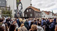 """Nuart seeking walls in Oslo: """"We want to make Oslo an art city - Aftenposten Stavanger, Oslo, Street View, Urban, River, City, Walls, Culture, Kunst"""