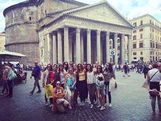 Pasa el tiempo y el Panteón de Agripa sigue tan imponente como siempre!