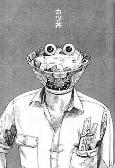 snakebomb:    Katsu Kare - Katsuhiro Otomo, 1978