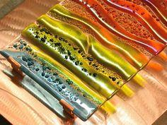 art glassWall Art Contemporary Glass Glass Wall Art