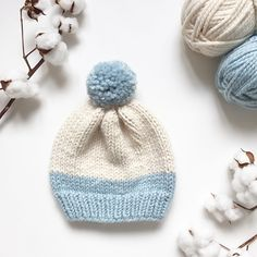 This is one of my easiest hat patterns. If you are just starting to explore the beautiful world of knitted hats, give this one a try!