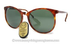 Ray Ban STYLE C Original Vintage Sunglasses made in USA in the '80s. - THESE ARE SICK!