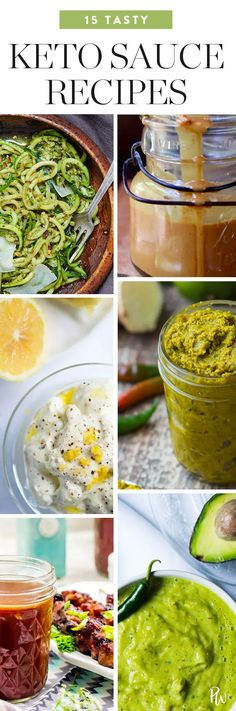 15 Keto Sauce Recipes to Slather on Anything and Everything #purewow #dips #food #recipe #ketogenic