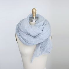 ice blue from martha's scarf shop