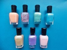 Review, Swatches: Spring 2014 Zoya Awaken Nail Polish Collection - Pastel Shades With Metallic Finishes | BeautyStat.com