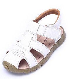 8743d70c462f Bumud Boy s Girl s Strap Closed Toe Fisherman Sandal Flat Shoe  (Toddler Little Kid Big Kid) (8 M US Toddler