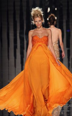 ABED MAHFOUZ COUTURE FALL/ WINTER 2011-12 COLLECTION  Coral Dresses #2dayslook  #ramirez701 #CoralDresses  www.2dayslook.com