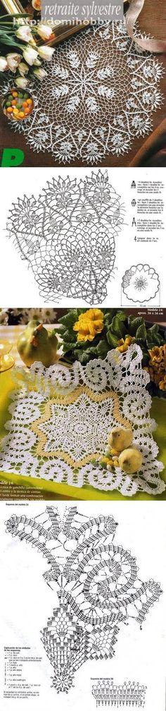 crochet  lace  <3 Deniz <3                                                                                                                                                      Más