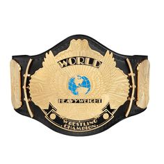 WWE Replica Winged Eagle Championship Title Belt with Free Pouch Bag Wwe Belts, Buddy Rogers, Wwe Logo, Andre The Giant, Shawn Michaels, Stone Cold Steve, Wwe Champions, Hulk Hogan