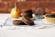 Chocolate and Bergamot Sandwich Cookies