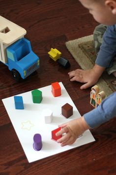 4 Easy Construction Games for Kids: These activities got my kids moving, learning, building, matching, working together, and having fun!