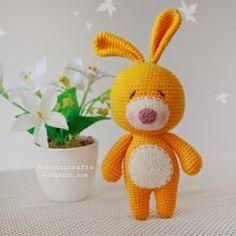Mesmerizing Crochet an Amigurumi Rabbit Ideas. Lovely Crochet an Amigurumi Rabbit Ideas. Crochet Gratis, Crochet Patterns Amigurumi, Amigurumi Doll, Crochet Dolls, Free Crochet, Crochet Rabbit, Crochet Bunny, Easy Crochet Projects, Art Japonais