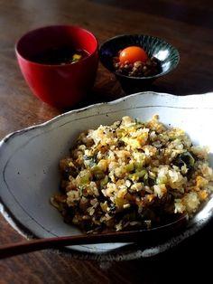 青高菜とちりめんの炒飯。 by あっちゃん。さん | レシピブログ - 料理 ...
