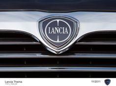 Lancia Thema, grill - logo.