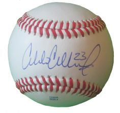 Colorado Rockies Charlie Culberson signed Rawlings ROLB leather baseball w/ proof photo.  Proof photo of Charlie signing will be included with your purchase along with a COA issued from Southwestconnection-Memorabilia, guaranteeing the item to pass authentication services from PSA/DNA or JSA. Free USPS shipping. www.AutographedwithProof.com is your one stop for autographed collectibles from Denver sports teams. Check back with us often, as we are always obtaining new items.