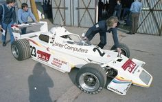 "Huub Rothengatter - Chevron B48 BMW - Docking Spitzley Racing / Racing Team Holland - XXIII B.A.R.C. ""200"" - VIII Jochen Rindt Trophy - 1979 European F2 Championship, Round 3"
