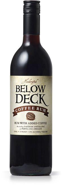 Portland Eastside Distillery's Award Winning Below Deck Coffee Rum - was amazing at Thanksgiving!