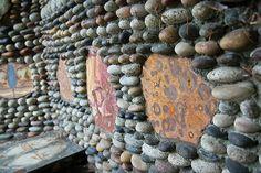 Walker Rock Garden | Flickr - Photo Sharing! Rock Mosaic, Mosaic Rocks, Gardening, Stone Mosaic, Lawn And Garden, Horticulture