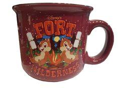 Disney Coffee Mug - Fort Wilderness Resort & Campground