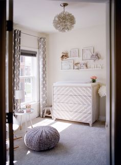 A Blushing Baby Nursery as Pretty as they Come