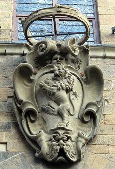 Palazzo Davanzati - stemma della famiglia Davanzati