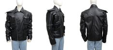 Mad Max Fury Road Tom Hardy Leather Jacket This jacket is quite fashionable with its front zip closure, zipper on the right sleeve and the pockets. This jacket is quite comfortable to wear because of the genuine leather