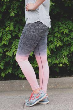 Peach Ombre Active Leggings – UOIOnline.com: Women's Clothing Boutique