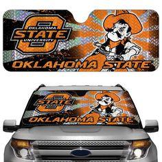 Oklahoma State Cowboys Auto Sun Shade