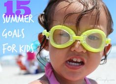 15 Summer Goals for My Kids | Family Focus Friday - I'm taking on summer with high hopes and big dreams for my kids. Check out our summer goals list