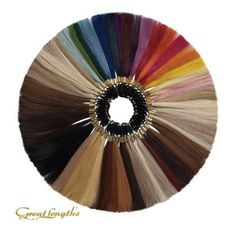 Great Lengths Hair Extensions Color Wheel appreciated by Extensions of Yourself www.extensionsofyourself.com