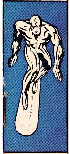 "thecomicsvault: ""SILVER SURFER CORNER BOX c.1969 """