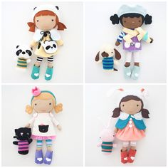 Adorable Stitched Dolls With a Story | Viola Hale Studio