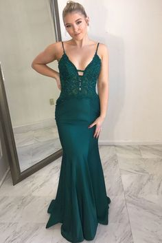 Prom Dresses Amiable 2019 New Arrival Reception Dress Sexy V Neck Mermaid Red Chiffon Custom Made Red Carpet Open Back Formal Long Prom Dresses Choice Materials
