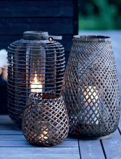 Autumn is here with unpredictable weather and shorter days - it's time to light up the lanterns.   Femina.dk  have made these beautiful...