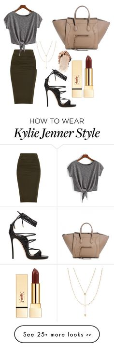"""Kylie jenner style"" by zarahweiler on Polyvore, not a fan of her but I like this look"