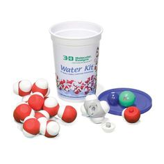 Water Kit© - Magnetic Water Molecules Molecular Design - all kinds of cool kits but really pricey Chemical Nomenclature, Water Molecule, Surface Tension, Nerd Gifts, Free Lesson Plans, Chemical Reactions, Positive And Negative, School Lessons, Student Learning