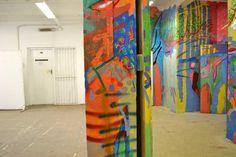 Studio view Fine Art, Studio, Painting, Painting Art, Studios, Paintings, Visual Arts, Painted Canvas, Drawings