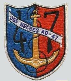 USS Neches (AO-47) Fleet Oiler (AO)
