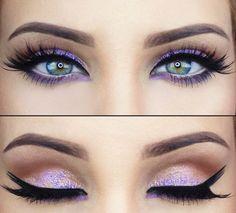 eye makeup for green eyes - Google Search